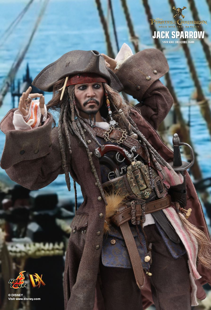 Pirates of the Caribbean Jack Sparrow Dead Men Tell No Tales Costume Kit