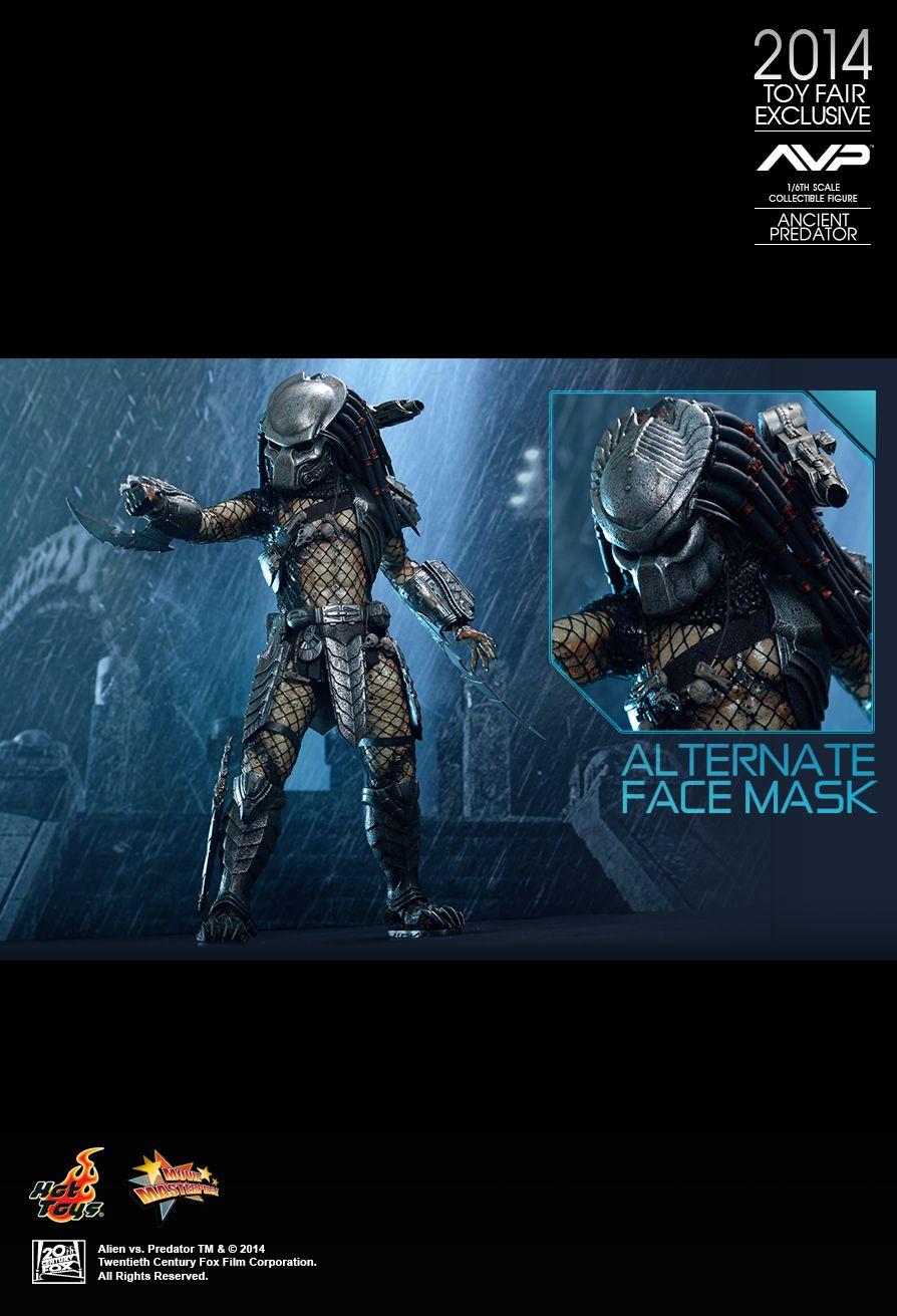Predator ANCIENT PREDATOR Figure 1//6 DAGGER w//SHEATH Hot Toys MMS250 Alien vs