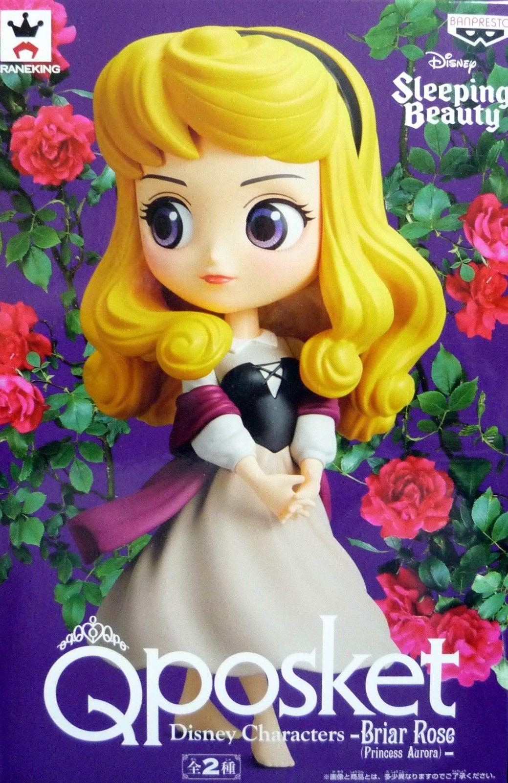 Q Posket Disney Characters - Briar Rose(Princess Aurora) Sort A