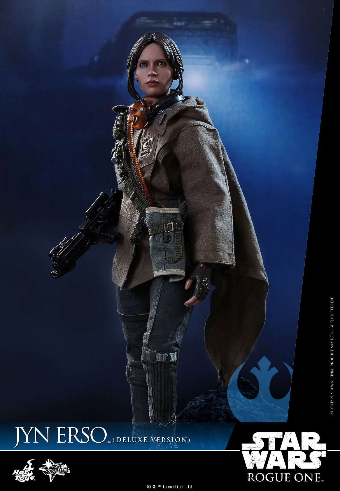 Hot Toys  MMS405 Star Wars Rogue One Jyn Erso 1//6 Scale Boots